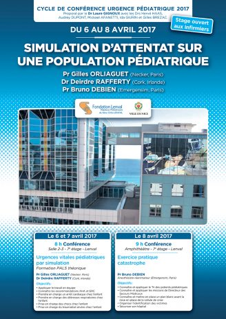 Simulation d'Attentat sur Population Pédiatrique